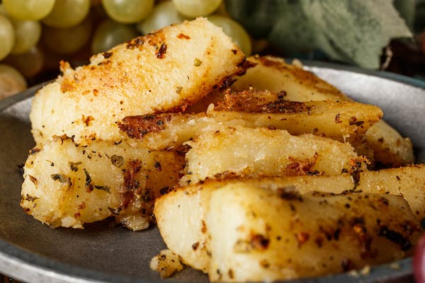 Side Roasted Lemon Potatoes