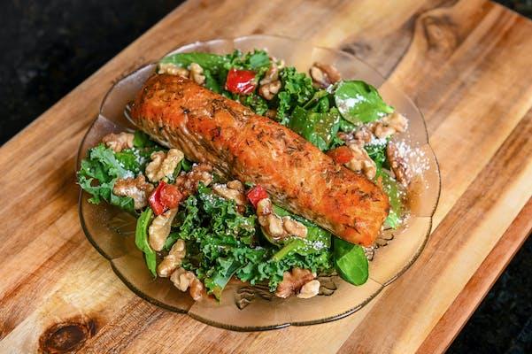 Sweet & Savory Salmon Salad