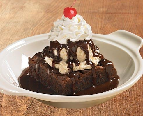 Warm Brownie Ala Mode