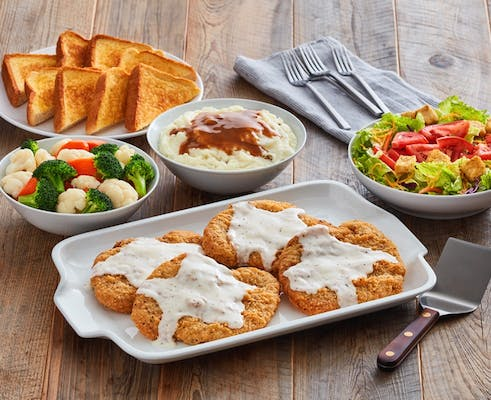 Country Fried Steak Family Meal