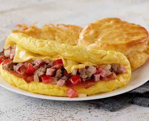 Omelet-Meat Lover's