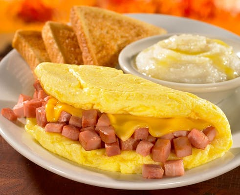 Omelet-Ham & Cheese