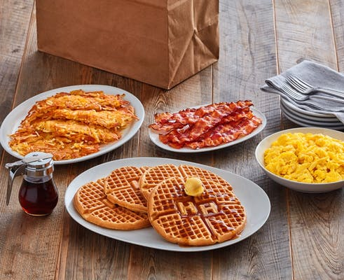 (4) Waffle Family Meal