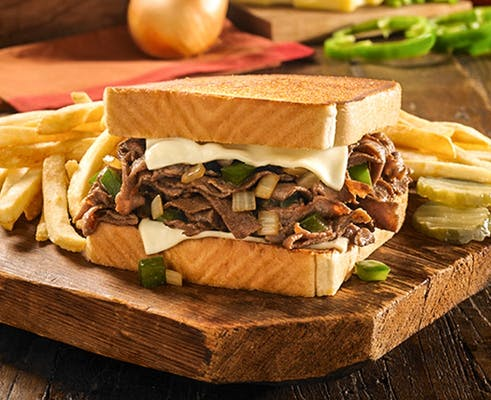Famous Philly Cheesesteak