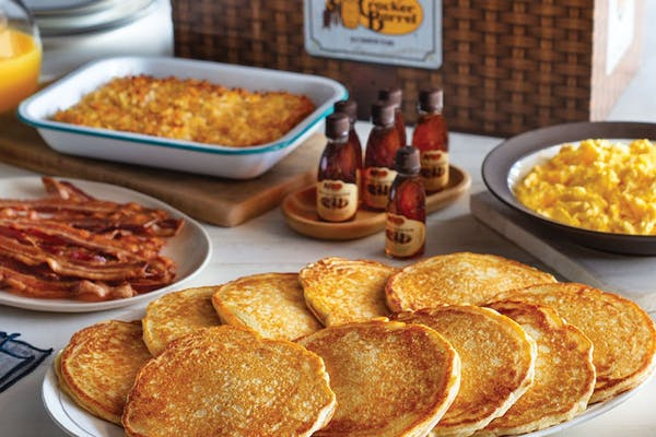 All-Day Pancake Breakfast Family Meal Basket