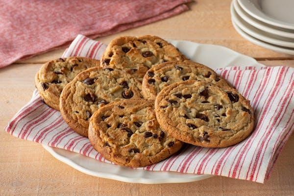 1/2 Dozen Chocolate Chip Cookies