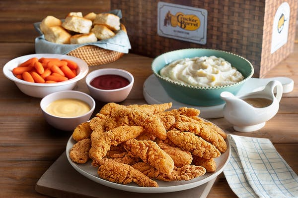 Fried Chicken Tenders Family Meal Basket