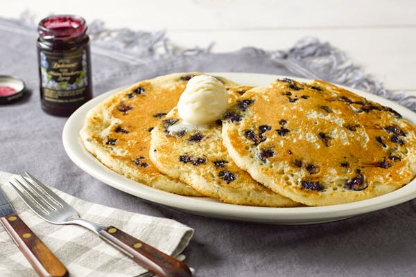 Wild Maine Blueberry Pancakes