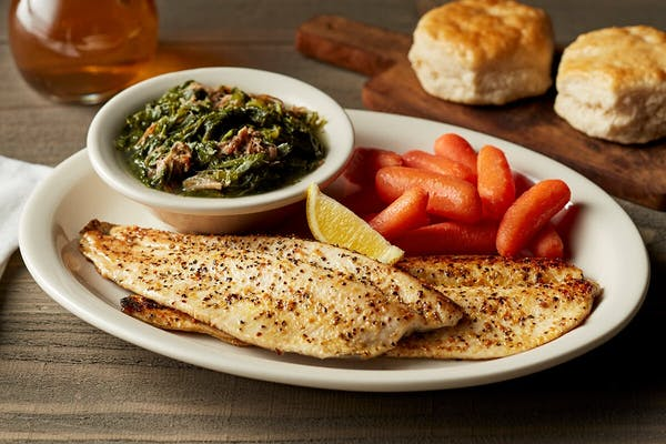 Lemon Pepper Grilled Rainbow Trout