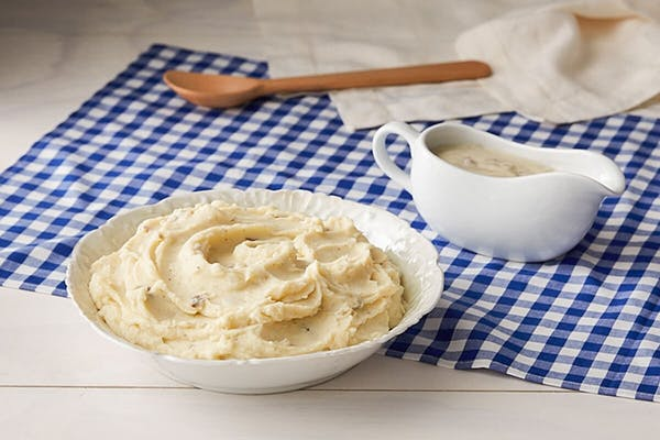 Mashed Potatoes w/Sawmill Gravy (Quart)