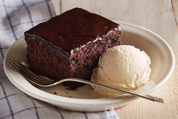 Double Chocolate Fudge Coca-Cola® Cake
