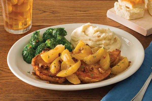 Smothered Apple Pork Chops