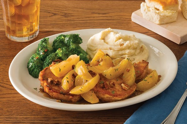 Smothered Apple Pork Chops