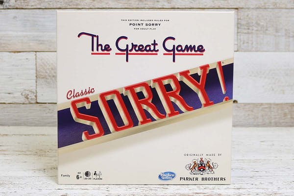 Family Night Classic Sorry Game