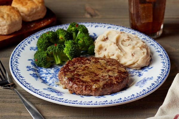 Hamburger Steak**