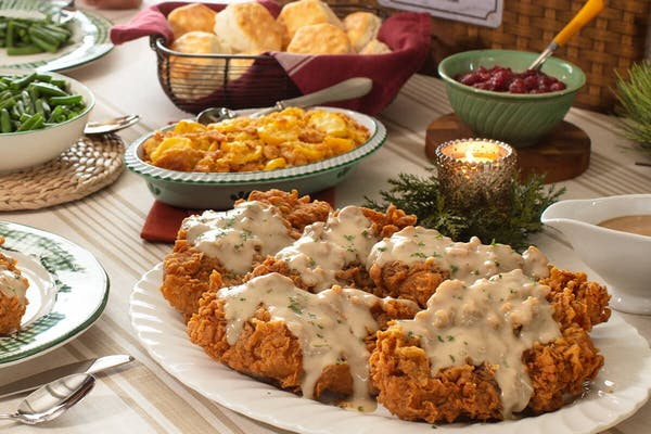Country Fried Turkey Family Meal Basket