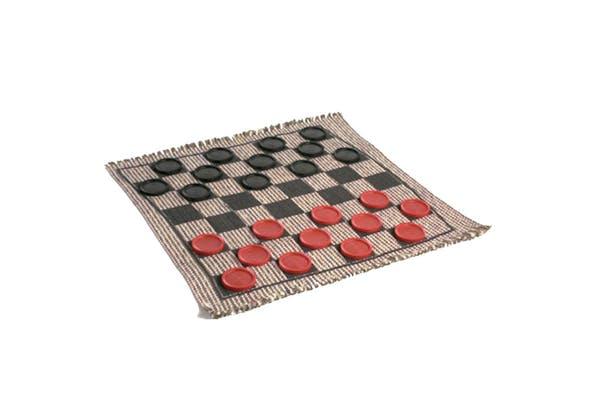 Cracker Barrel 3-In-1 Jumbo Checkers