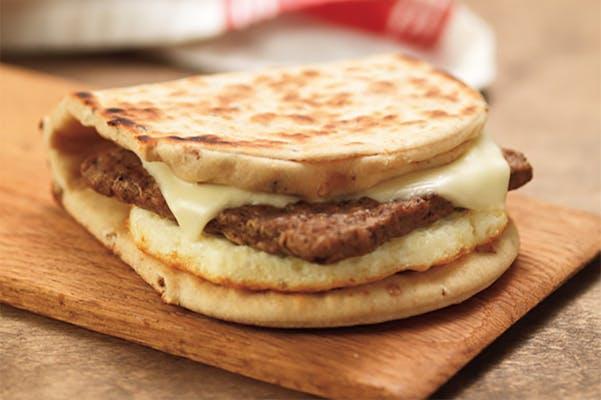 Turkey Sausage, Egg & Cheese sandwich