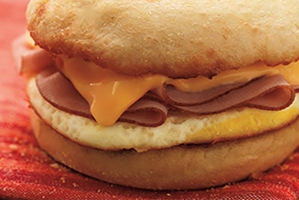 Ham, Egg & Cheese Sandwich