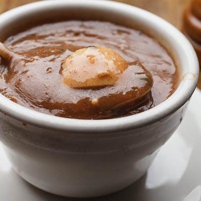 Homemade Turtle Soup au Sherry