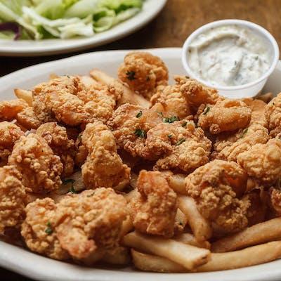 Lunch Fried Shrimp Platter