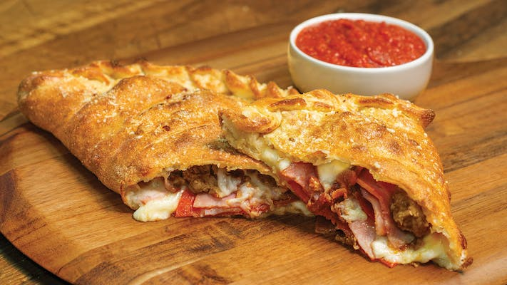 All Meat Calzone