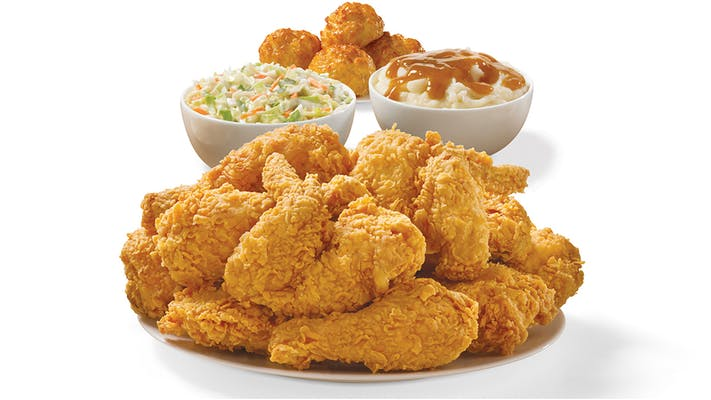 12 Pieces Mixed Chicken Meal