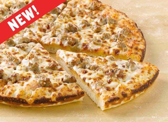 Pan Sausage Pizza