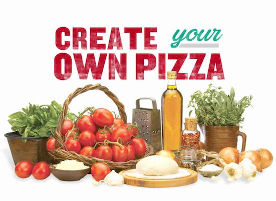 Build Your Own Whole Pan Pizza