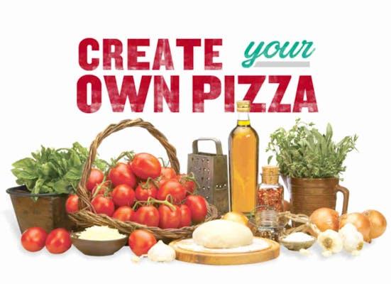 Build Your Own Half & Half Pan Pizza