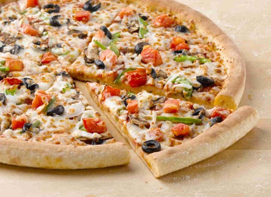Garden Fresh Specialty Pizza