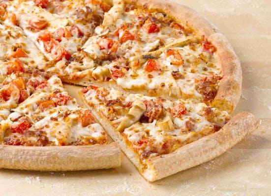Grilled Chicken Club Gourmet Pizza