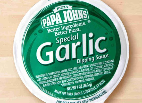 Special Garlic Dipping Sauce