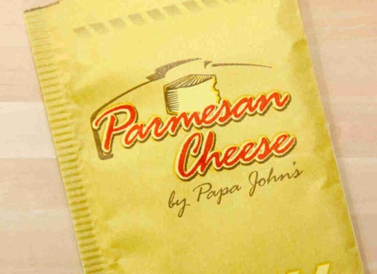 Parmesan Cheese Packet