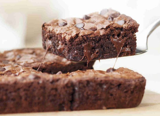 Double Chocolate Chip Brownie