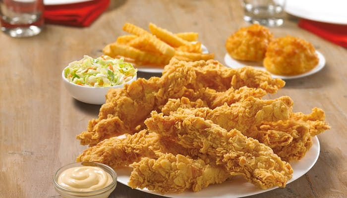 (10 pc.) Tender Strips Meal
