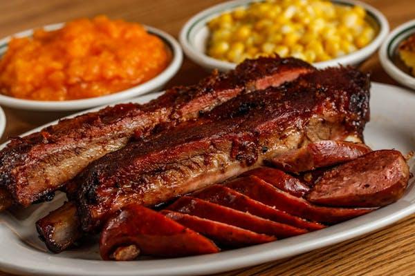 Pork Ribs & Sliced Sausage