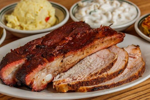 Pork Ribs & Sliced Turkey