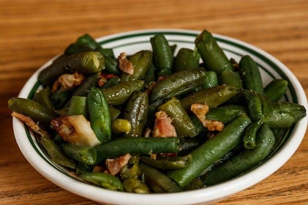 Side Seasoned Greens Beans