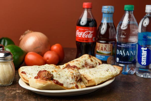 Large Meatball Sandwich Coca-Cola Combo