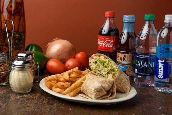 Grilled Chicken Caesar Wrap Coca-Cola Combo