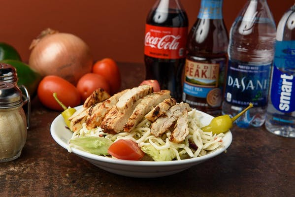 Medium Italian Tossed Salad with Grilled Chicken Coca-Cola Combo