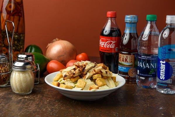 Medium Caesar Salad with Grilled Chicken Coca-Cola Combo