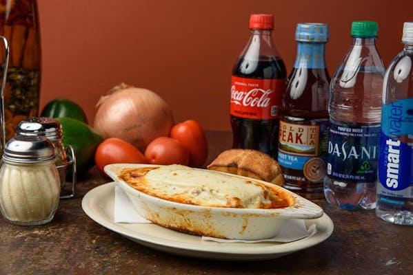 Lasagna Dinner Size Coca-Cola Combo