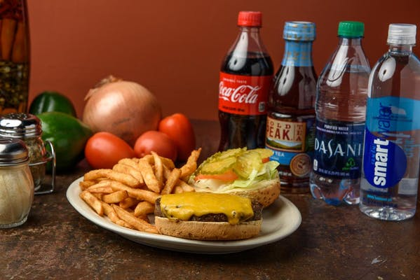 Alternative Rock & Roll Burger Coca-Cola Combo