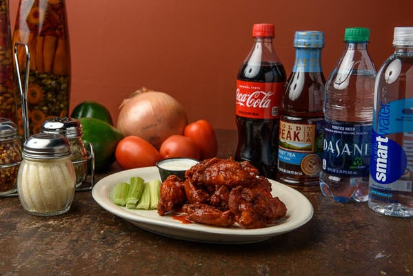 Chicken Wings Coca-Cola Combo
