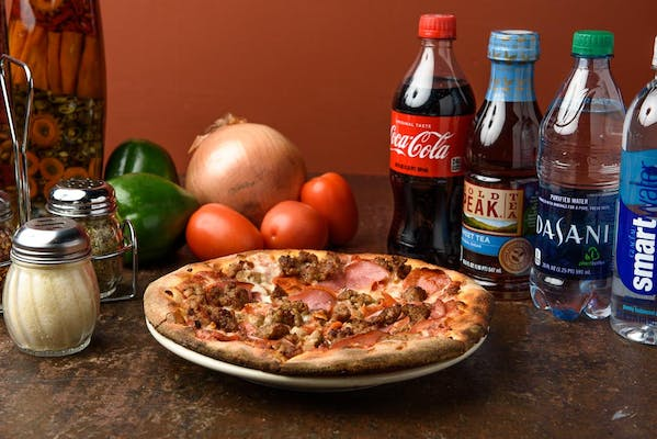 "(8"") Meat Eaters Pizza Coca-Cola Combo"