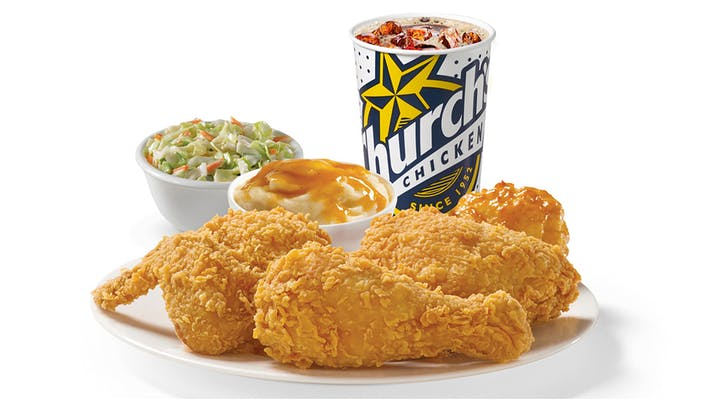 3 Pieces Mixed Chicken Combo