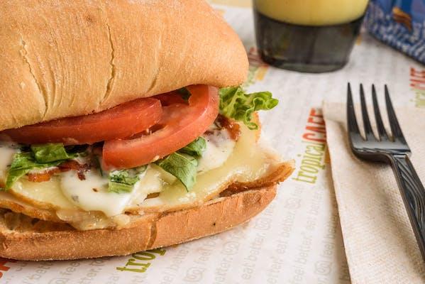 Turkey, Bacon & Ranch Sandwich
