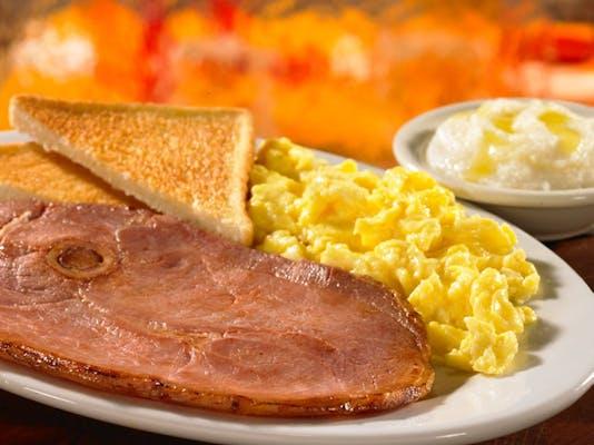 2 Eggs & Country Ham
